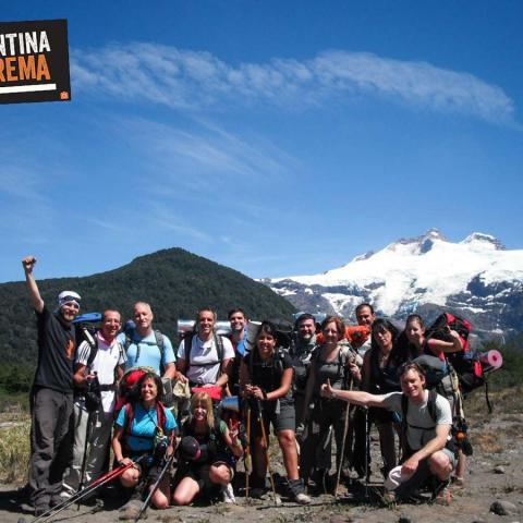 Trekking Cruce de los Andes, Argentina-Chile, Paso Vuriloche - de Pampa Linda a Ralún, Patagonia  - 31-12-1969 11 de Enero!