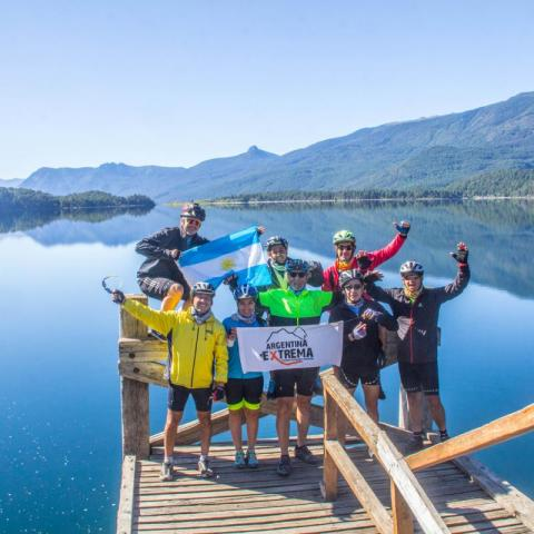 Volcanoes Trail- Double Crossing the Andes Mountain Bike - Bicycle Tourism