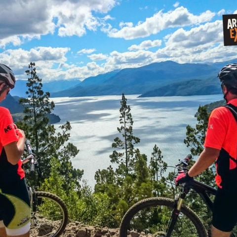 Volcanoes Trail- Double Crossing the Andes Mountain Bike - Bicycle Tourism - 1969-Dec-31 24 de May!