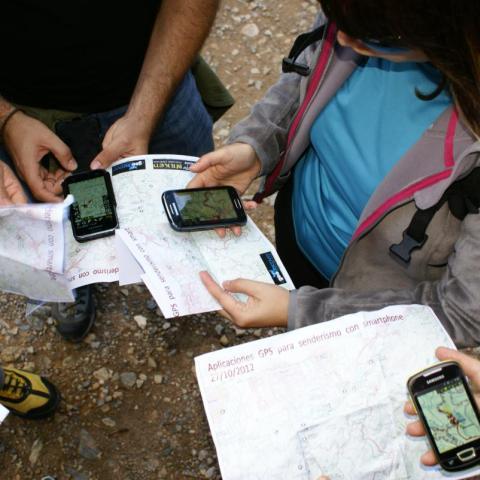 Curso de Orientación, cartografía y GPS  8 horas