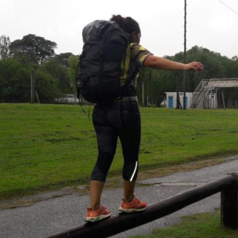 Entrenamiento para montañismo - Parque de las Américas - CABA - Covid19