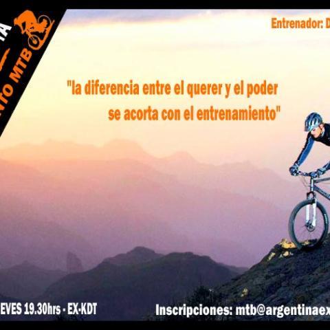 Entrenamiento de MTB - Bicicleta de Montaña - Mountain Bike