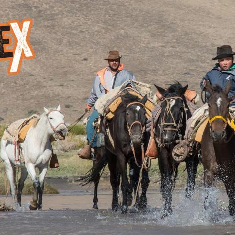 A horseback adventure full of history through Valle de las Lágrimas.