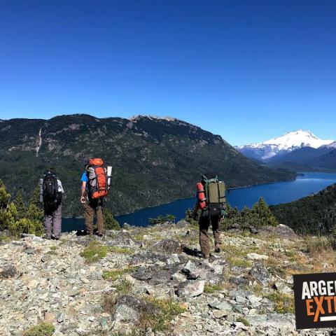 Trekking Vuelta al Lago Mascardi - Laguna Llum - Casalata - Rio Manso - PN Nahuel Huapi, Bariloche