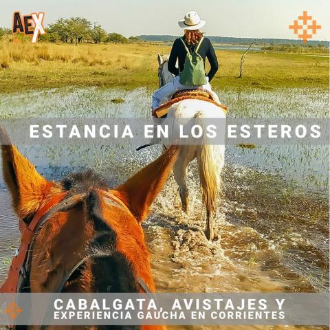 Cabalgata, Avistajes y Experiencia Gaucha en Corrientes