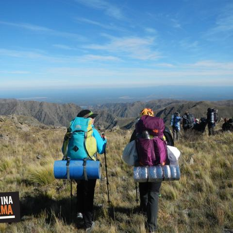 El Camino del Oro - Trekking cruce Sierras Centrales de San Luis - 31-12-1969 11 de Enero!