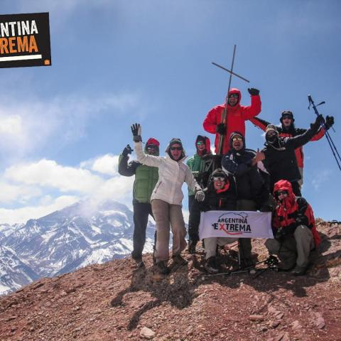 Cerro Penitentes - Trekking and mountaineering - climbing to summit - Mendoza -