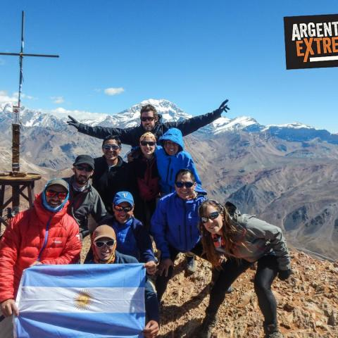 Cerro Penitentes - Trekking and mountaineering - climbing to summit - Mendoza - 1969-Dec-31 05 de March!