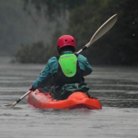 Raid Nautico - kayaking - 64km a puro remo - Bajada del Arroyo Yaboti + Saltos del Moconá - Misiones