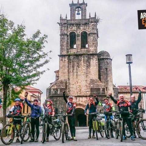 MountainBike Camino de Santiago - Camino primitivo, de Oviedo a Santiago de Compostela - MTB - Ciclortursimo