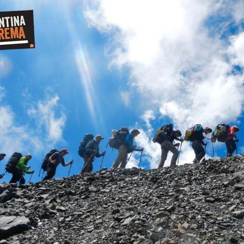 Ascenso Cerro San Bernardo - Adolfo Calle - Vallecitos, Cordón del Plata
