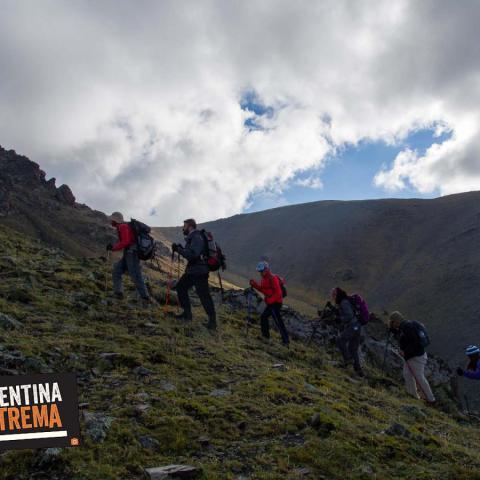 Vallecitos - Cordón del Plata - Cerro Franke - Cerro Lomas Blancas - Mendoza