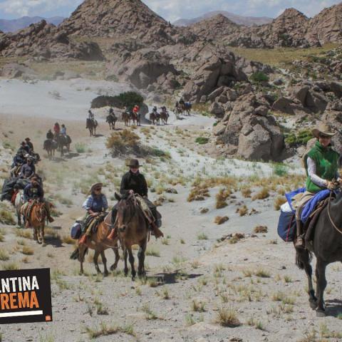 Cabalgata de los Valles - Las Loicas 4 días - Cordillera de los Andes