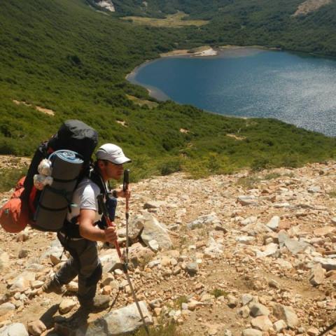 Trekking from Colonia Suiza to Pampa Linda - Bariloche - Patagonia - Nahuel Huapi National Park