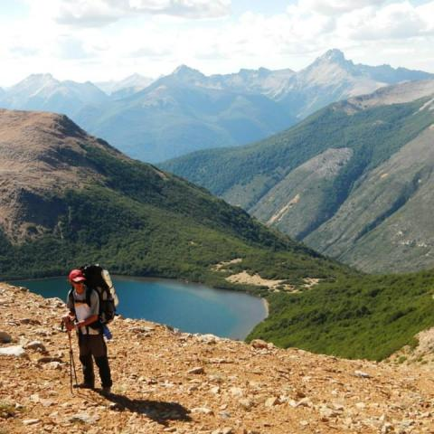 Trekking from Colonia Suiza to Pampa Linda - Bariloche - Patagonia - Nahuel Huapi National Park