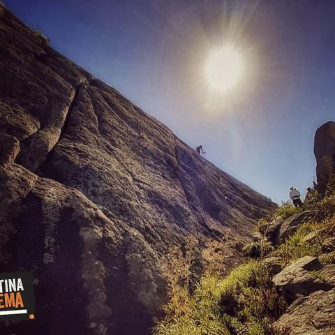 Curso y salida de escalada en roca - Sierras de Buenos Aires - Inicial