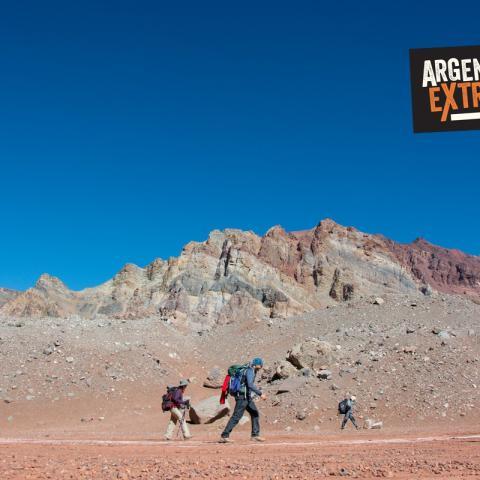 Trekking to the Stone Sentinel - Plaza de Mulas - Base Camp - Aconcagua - Argentina