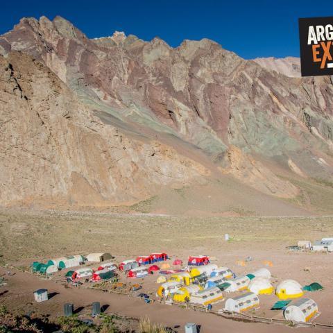 Cerro Aconcagua - Trekking corto a Plaza Francia - Mendoza