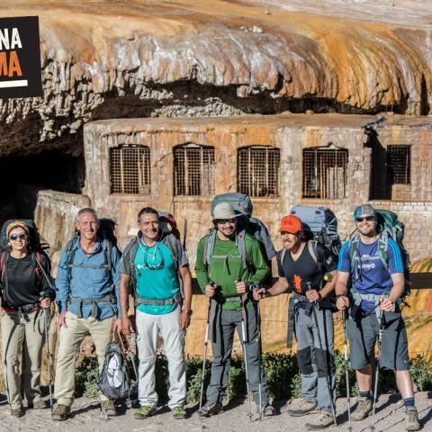 Trekking en Aconcagua (6963 msnm)- opción corta hasta Plaza Francia y campamento Confluencia - Mendoza, pared Sur