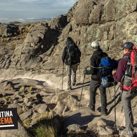 Trekking and ascent to Cordoba highest summit- Champaqui hill