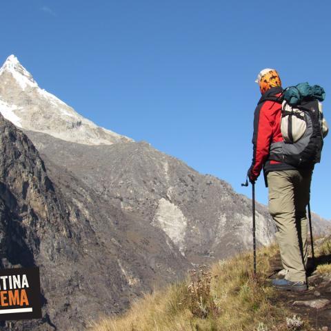 Cordillera Blanca, Huaraz, Peru - Trekking Quebrada Santa Cruz a Laguna 69 - Punta Union, CB Alpamayo - Llanganuco