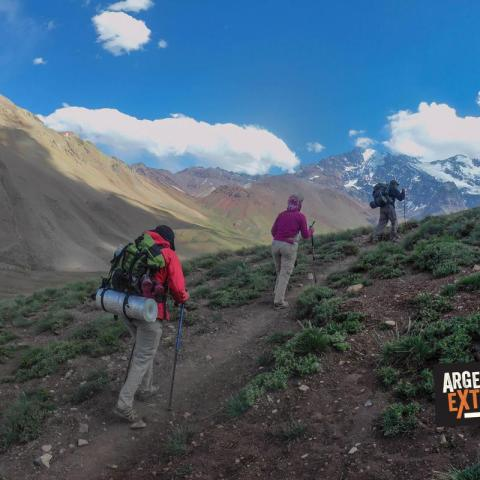 Crossing the Andes - Paso el Portillo – Trekking from Mendoza to Chile