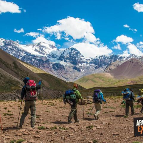 Crossing the Andes - Paso el Portillo – Trekking from Mendoza to Chile