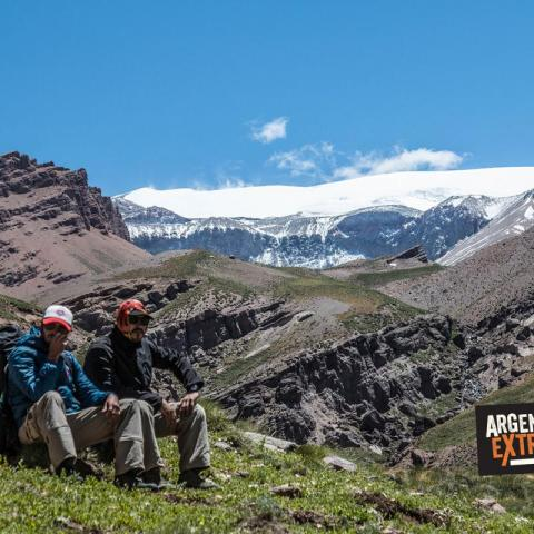 Crossing the Andes - Paso el Portillo – Trekking from Mendoza to Chile   -