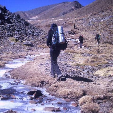 Nevados de Aconquija Crossing - Trekking - from Catamarca to Tucumán - La Ciudacita - Campo de los Alisos National Park - 1969-Dec-31 08 de November!