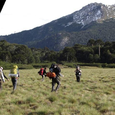 Trekking Huella Andina, de Moquehue al lago Quillén - Pehuenia, PN Lanin, Neuquén