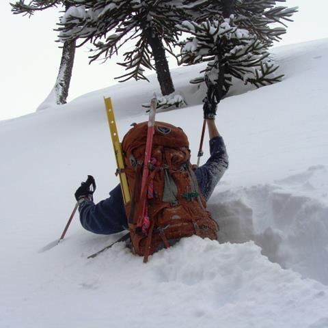 Curso de Iniciación al montañismo invernal - Escalada en Hielo - Trekking en nieve
