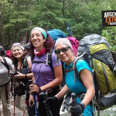 Trekking de Yuko a Hua Hum - Lago Lacar, Lago Lolog, Lago Nonthue - Parque Nacional Lanin