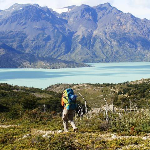 Trekking de los Glaciares - Lago del Desierto - Lago Ohiggins - El Chaltén - Candelario Mansilla