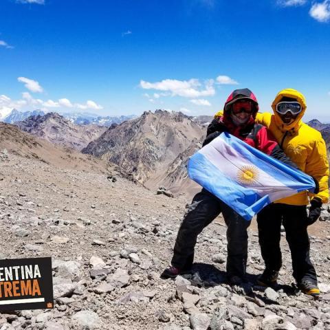 La Cara Oculta del Cerro Aconcagua - Trekking a Plaza Argentina y campos de altura - Centinela de Piedra - 31-12-1969 08 de Noviembre!