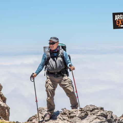 Ascent hill El Manchao (4530 m)-  Ambato Cordon, Catamarca