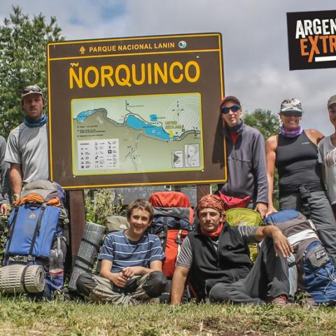 Trekking Ñorquinco-Rucachoroi-Quillén - Parque Nacional Lanin Norte - Neuquén