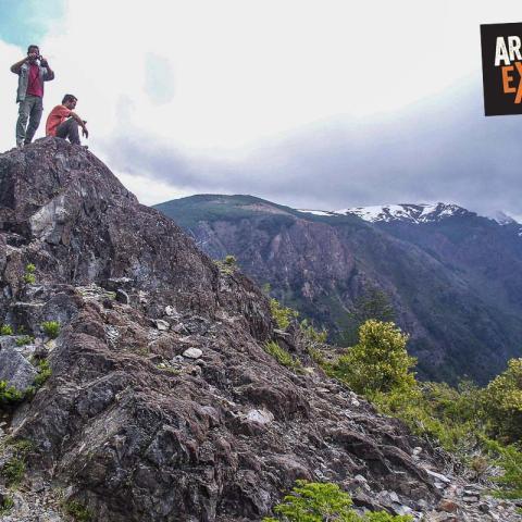 Trekking de los refugios de El Bolsón - Paralelo 42 - Hielo Azul, Cajón del Azul - Patagonia - 31-12-1969 11 de Enero!