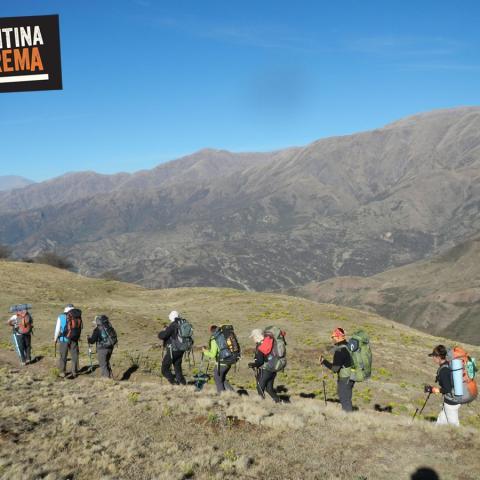 Camino del Inca Qhapaq Ñan - Trekking Pascha - Silla del Inca - Sendero de las Nubes, Salta