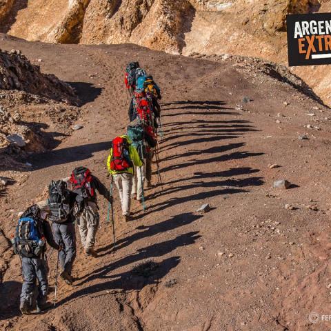 Circunvalacion del Cerro Penitentes - Trekking - Mendoza - 31-12-1969 11 de Enero!