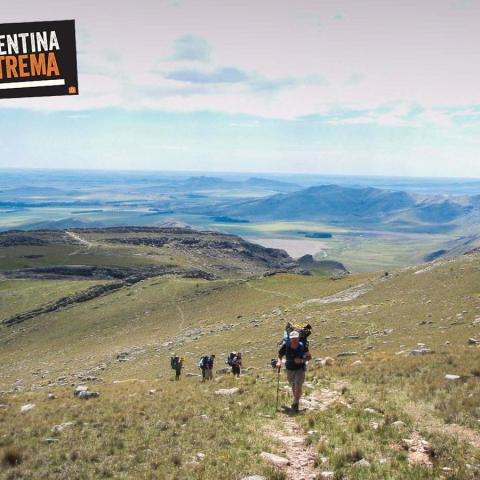 Adventure hiking in Sierra de la Ventana - Bs. As.