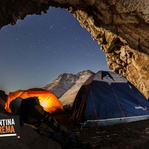 Ascenso al Techo de Buenos Aires - Cerro Tres Picos - Iniciación al Montañismo