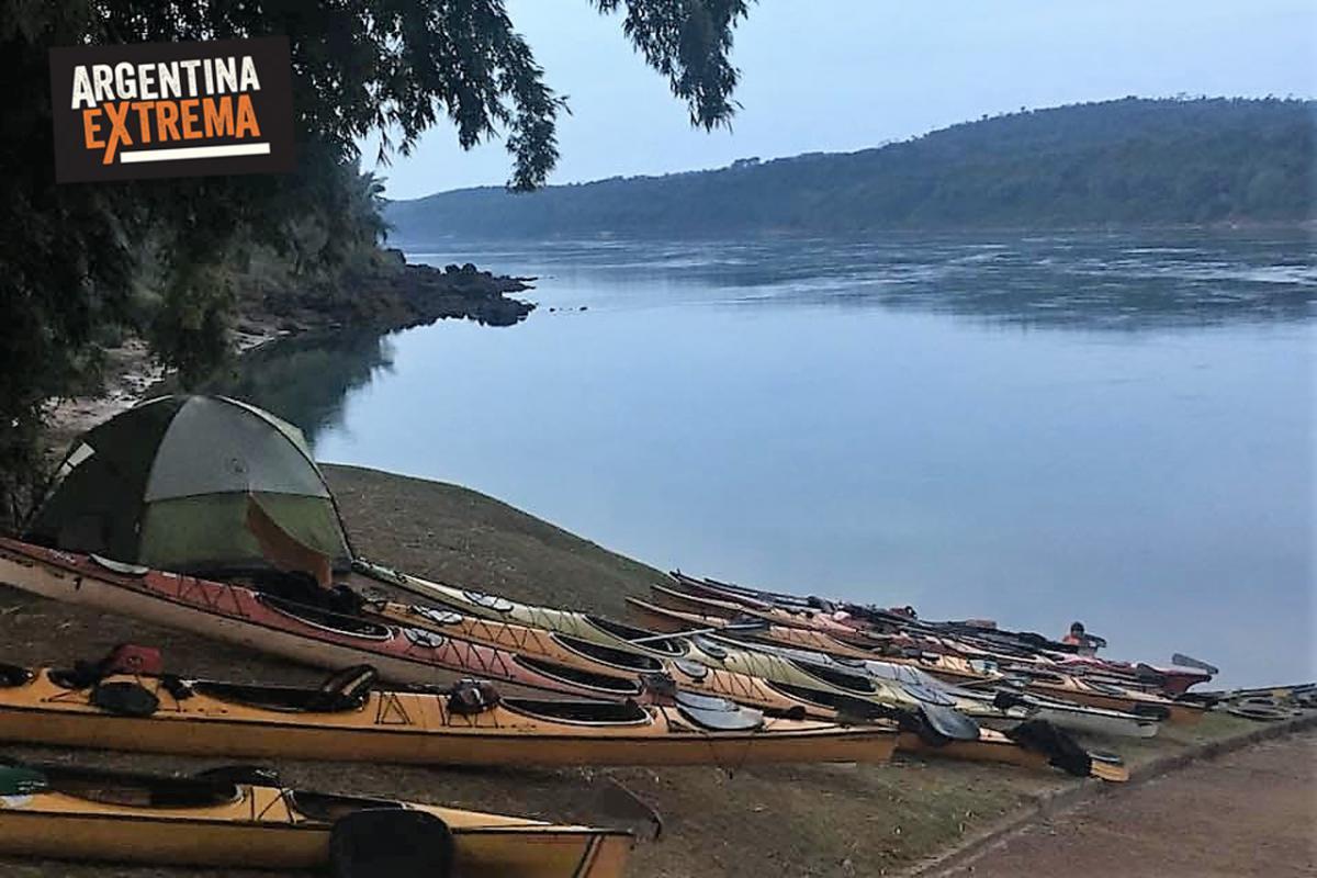Kayaking de Travesía - Iguazú el Dorado - 130k