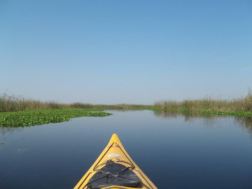 kayaking de travesia por los esteros del ibera380
