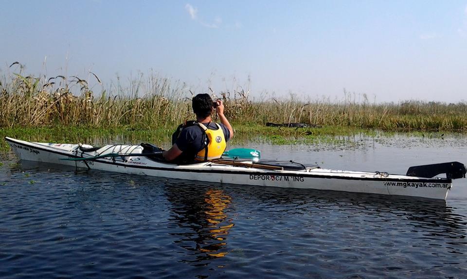 kayaking de travesia por los esteros del ibera538