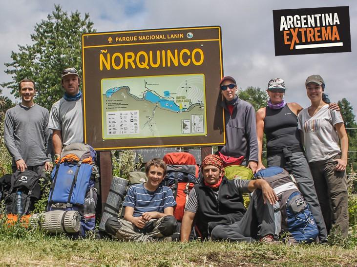 Grupo en Ñorquinco