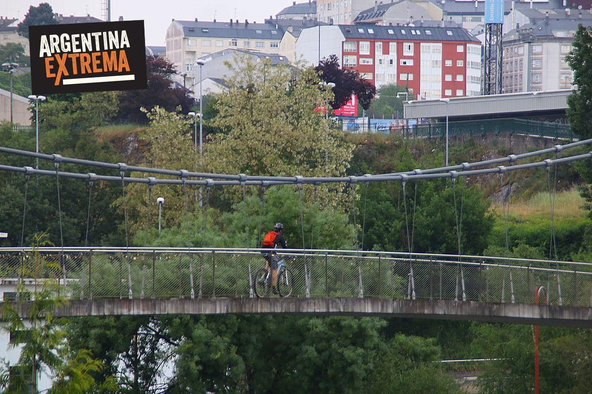 Lugo - Camino de santiago de compostela en MTB