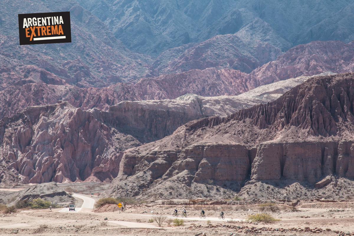 Quebrada de las Conchas - Mountainbike