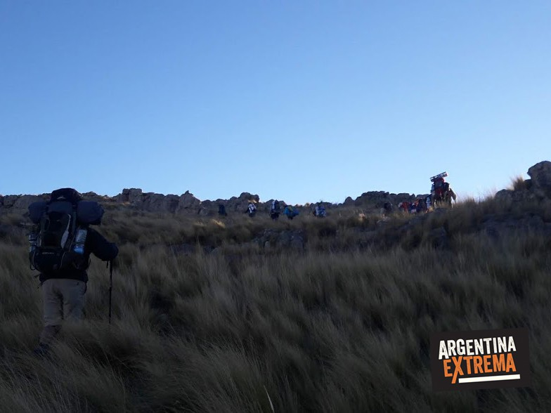sierra san luis trekking