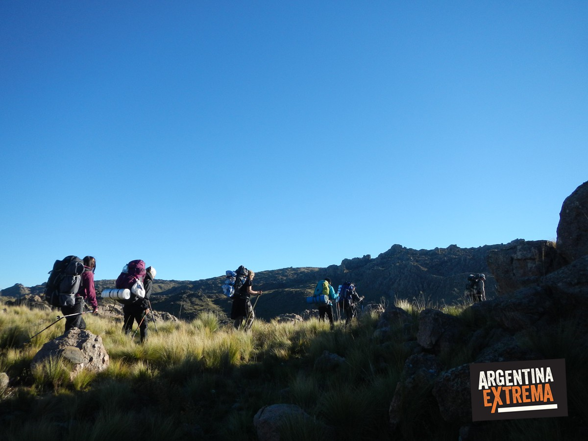 sierras de san luis trekking