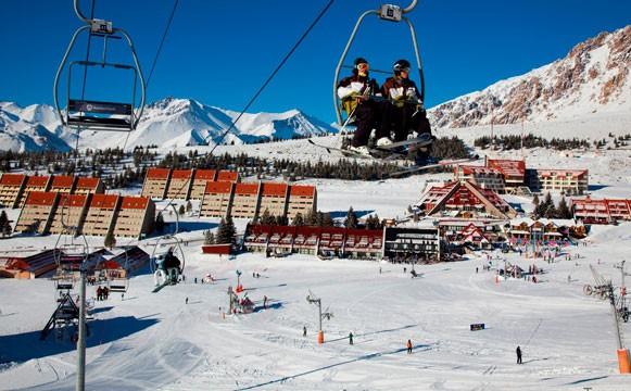 ski snowboard week las lenas grupal amigos familias585